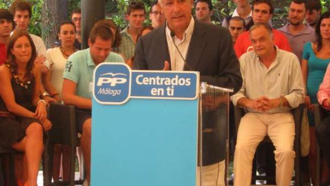 Javier Arenas, En Rueda De Prensa