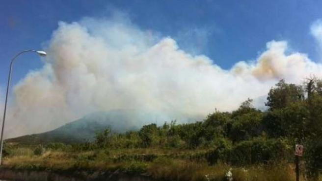 Incendio En La Riba