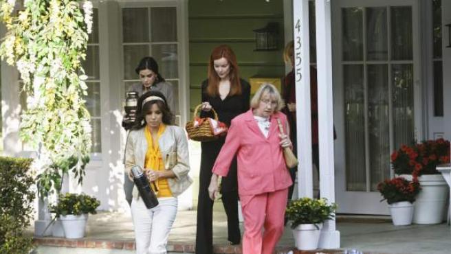 Una imagen de la serie 'Mujeres desesperadas'.