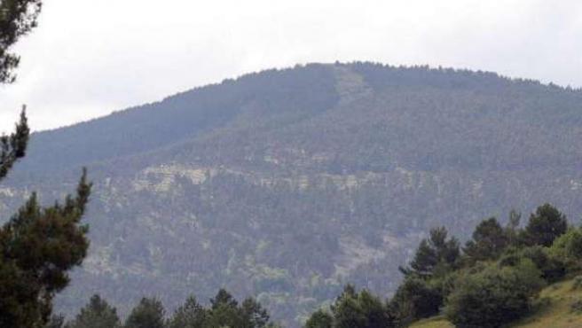 Imagen de un monte de España.
