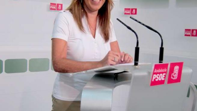 Susana Díaz (PSOE-A) En Rueda De Prensa En Sevilla