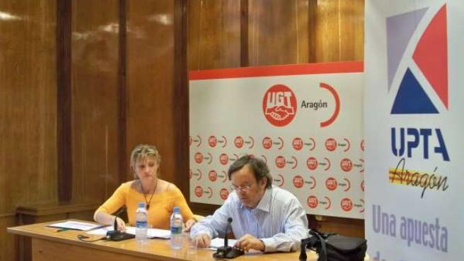 Ávaro Bajén Y Ana Ric En La Presentación De Proyecto De Ley