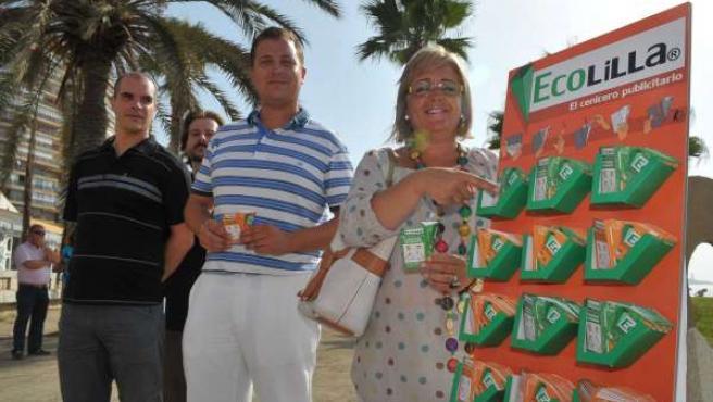 Teresa Porras Y Víctor Ramos, En La Presentación Del Programa