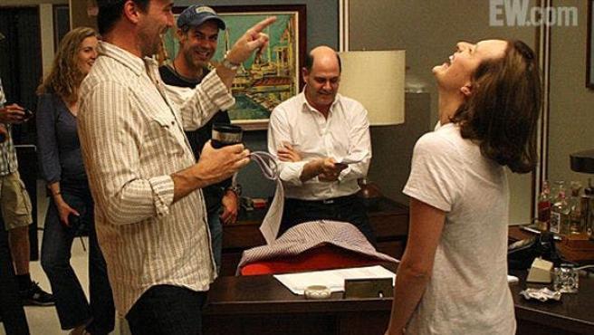 Jon Hamm dirige un episodio de 'Mad Men'