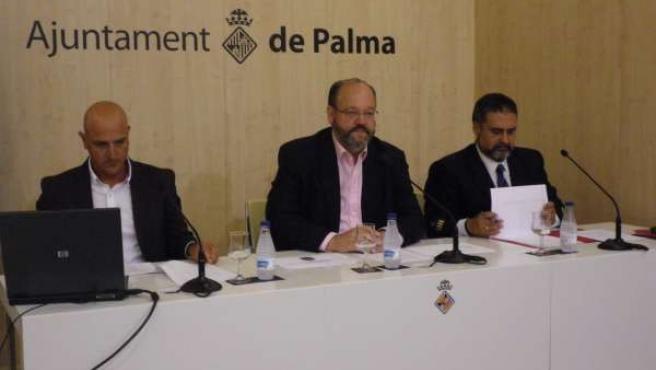 Presentación De La Memoria Del 2010 De Los Bomberos De Palma