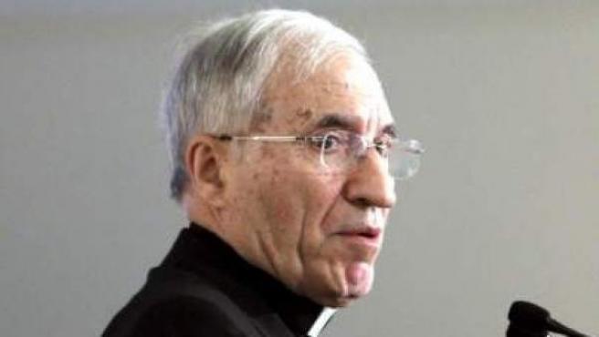 Imagen de archivo del presidente de la Conferencia Episcopal Española, Antonio María Rouco Varela.
