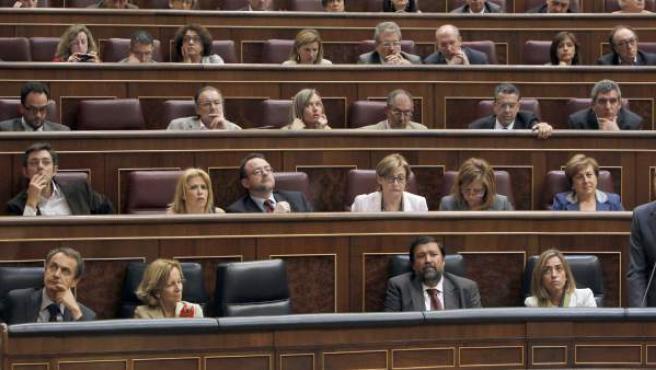 Una imagen del Congreso de los Diputados.