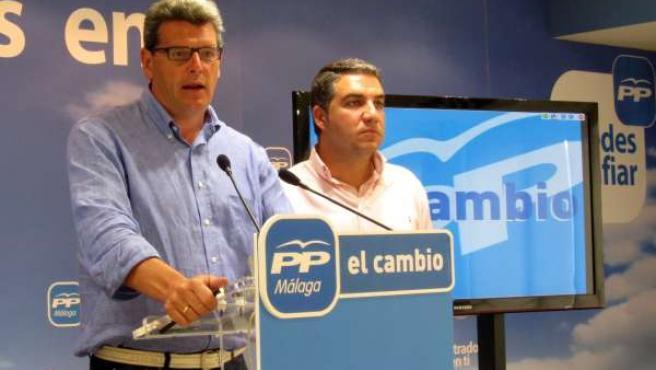 El Vicesecretario General Del PP-A, Ricardo Tarno