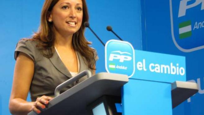 Patricia Navarro, Vicesecretaria De Acción Electoral Del PP-A