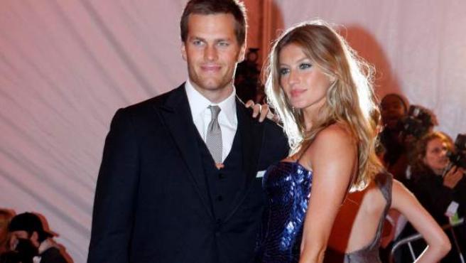 Tom Brady y Gisele Bundchen, en una imagen de archivo.