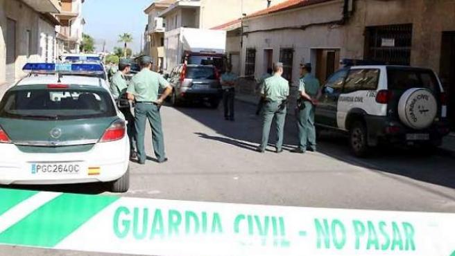 Agentes de la Guardia Civil en un dispositivo contra la violencia machista (ARCHIVO).