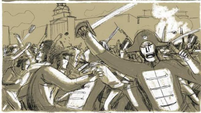 Página del cómic 'Yes we camp!', firmado por Carla Berrocal.