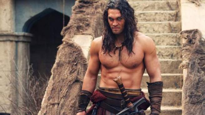 Jason Momoa, protagonista de la versión de 2011 de Conan, el Bárbaro.