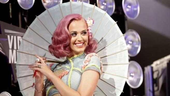 Katy Perry en la gala de los MTV Video Music Awards 2011.