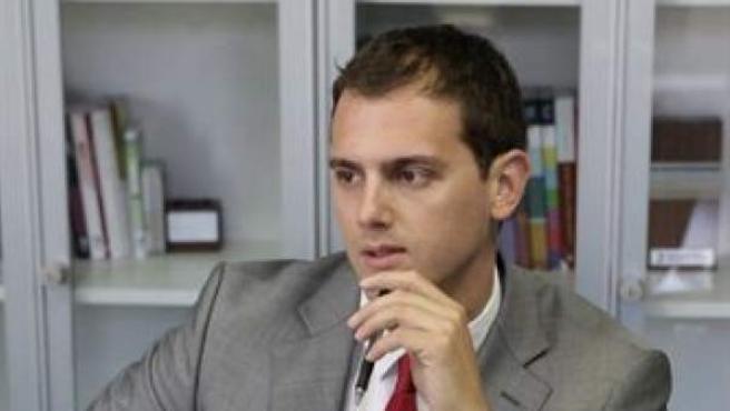 Albert Rivera, presidente de Ciutadans.