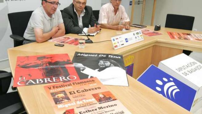 L V Festival Flamenco Que Organiza La Peña ?Esther Merino? El Cabrero, Miguel D