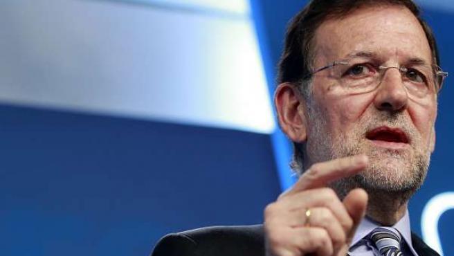 Primer Plano De Rajoy
