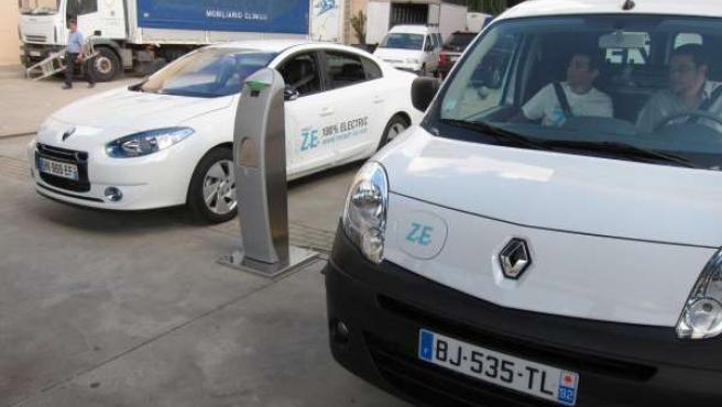 Renault Fluence Y Kangoo Z.E. Que Se Pueden Probar En La Feria De Muestras