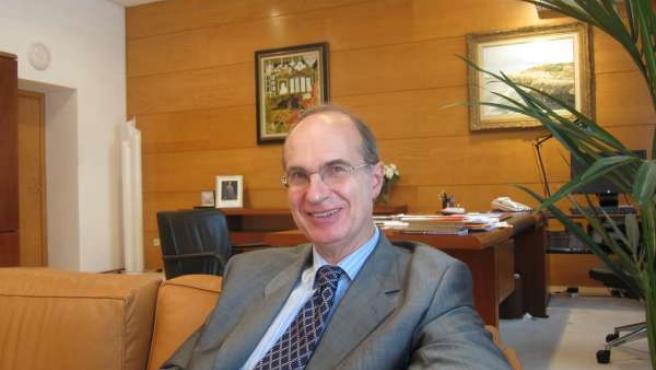José Antonio Cagicas, Presidente Del Parlamento Cántabro