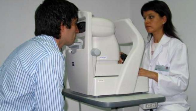 Consulta de Oftalmolgía