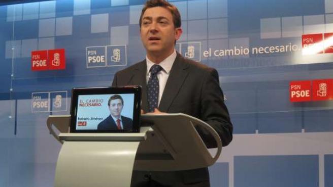 El Secretario General Del PSN, Roberto Jiménez.