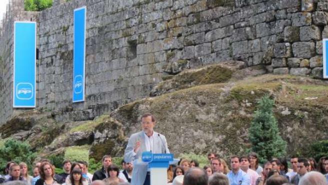 Rajoy En Soutomaior