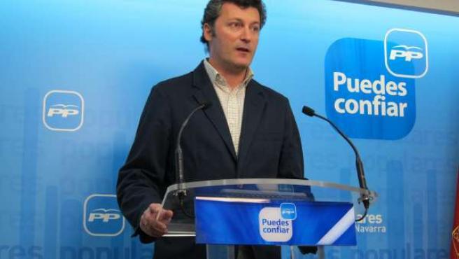 El Presidente Del PPN, Santiago Cervera.