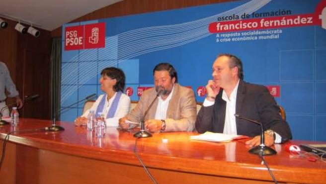 La Paula Pena, Francisco Caamaño Y Pablo García