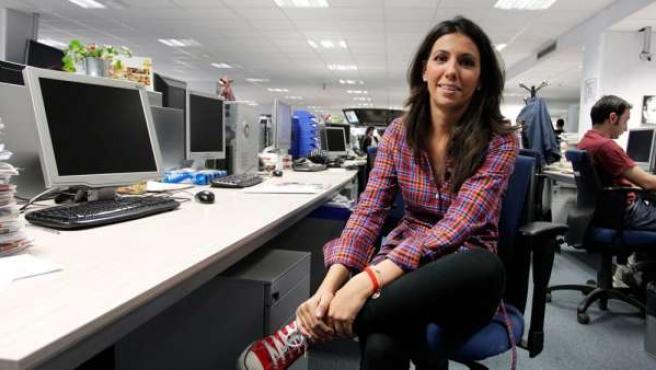 Ana Pastor, durante una visita a la redacción de 20minutos.es.