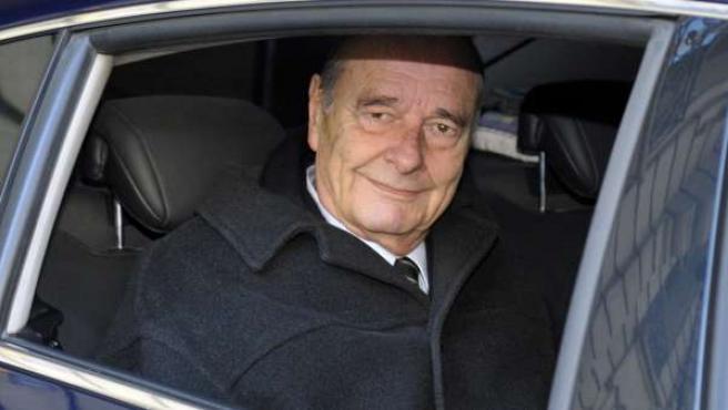 El expresidente francés, Jacque Chirac, en una foto de archivo.