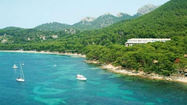 Vistas Del Hotel Formentor.