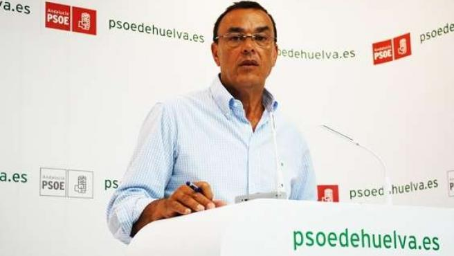 El Secretario De Organización Del PSOE De Huelva, Ignacio Caraballo.