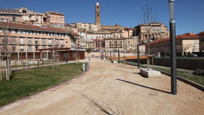 Parque de la margen izquierda de Tarazona (Zaragoza)