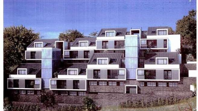 Viviendas Construidas En Luarca.