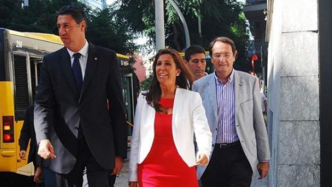 Xavier García Albiol y Alicia Sánchez Camacho.