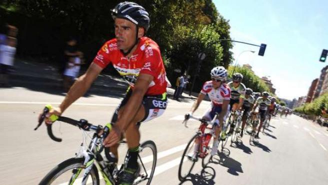 Juan José Cobo, líder de la Vuelta.