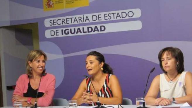 Laura Seara, Presentación Estudio Igualdad