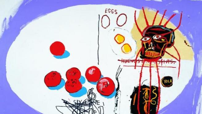 Otro de los 130 óleos que pintaron Warhol y Basquiat entre 1983 y 1985