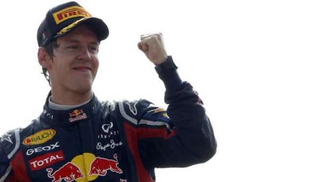 El alemán Sebastian Vettel.
