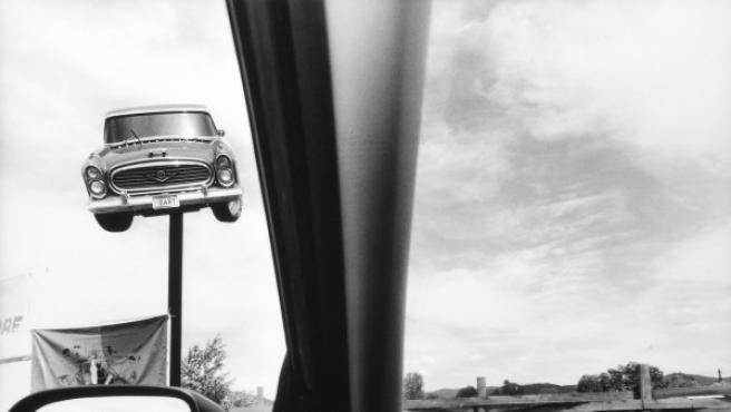 Todas las fotos de 'America by Car' fueron realizadas desde el asiento del conductor