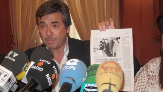El Poprtavoz Del Gobierno Local, Miguel Ángel Torrico