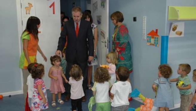 Delegado Del Gobierno En Escuela Infantil Hacienda