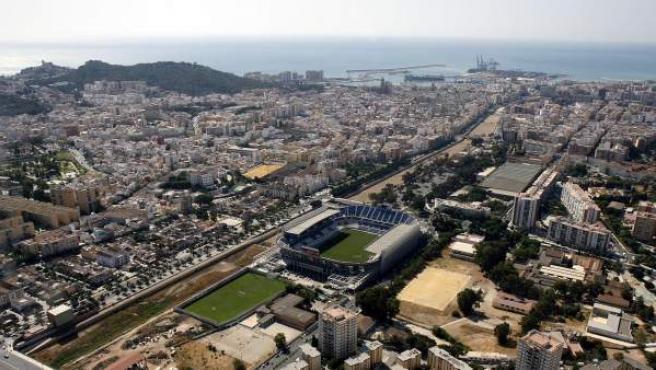 Una panorámica de la ciudad de Málaga.