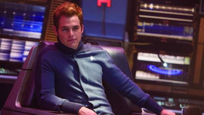 Chris Pine, protagonista de la entrega de 'Star Trek' que supuso el reinicio de la saga.