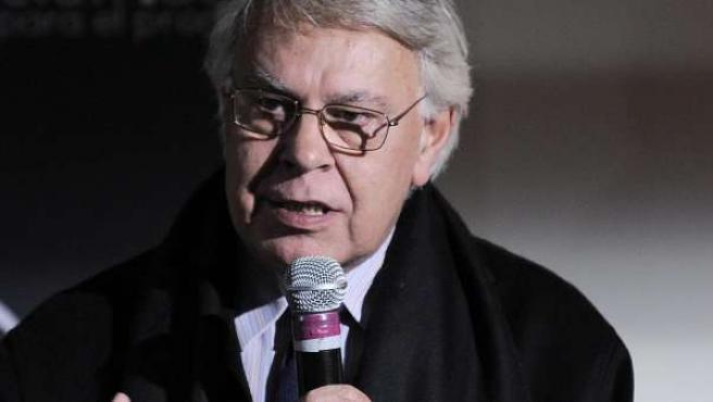 El ex presidente español Felipe González, el pasado 13 de diciembre de 2010 en un foro en Nueva York.