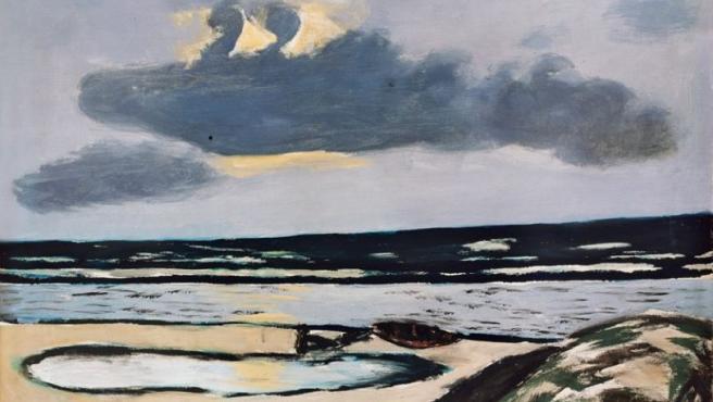 Meeresstrand, una de las obras destacadas en la exposición de Beckmann