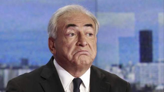 El exdirigente del FMI, Dominique Strauss-Kahn.