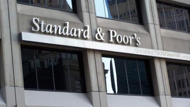 La sede de la agencia de calificación de riesgo Standard&Poor's, en Nueva York (EE UU).