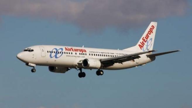 Un avión de Air Europa, en una imagen de archivo.