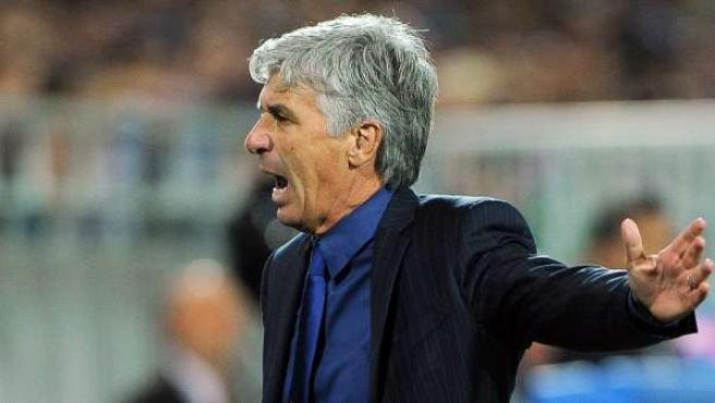 El director técnico del Inter, Gian Piero Gasperini.